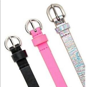 NWT NO BOUNDARIES 3 for 1 BELTS